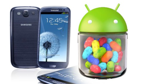 Android 4.1.1 update for Galaxy S3