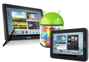 galaxy tab Android 4.1.1 jelly bean update