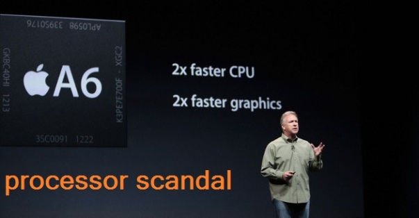 iPhone 5 scandal
