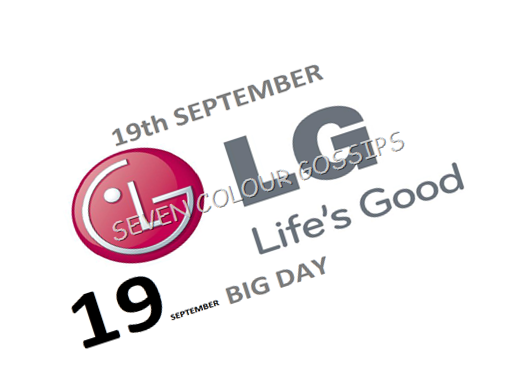 lg 19th september event