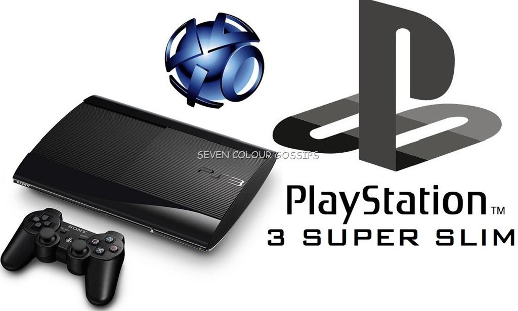 sony playstation 3 logo. ps3 super slim sony playstation 3 logo