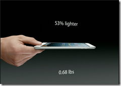 ipad mini size