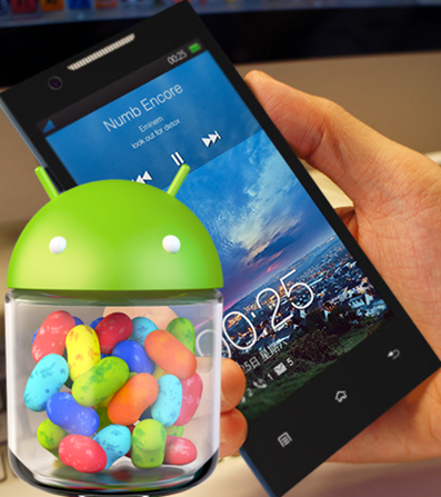 android jelly bean in oppo find five