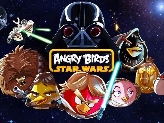 Angry Birds Star Wars Announced By Rovio And Will Be Available - Famous logos redesigned as angry birds characters