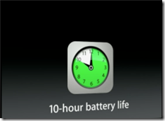 ipad mini battery timing