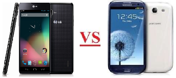 galaxy s3 vs optimus g
