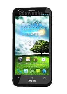 Asus padfone 2 dislay size
