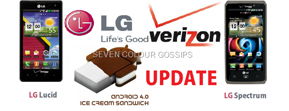 ics update for lg lucid and lg spectrum