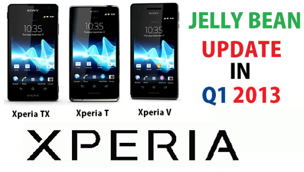 jelly update for xperia t, xperia tx and xperia v
