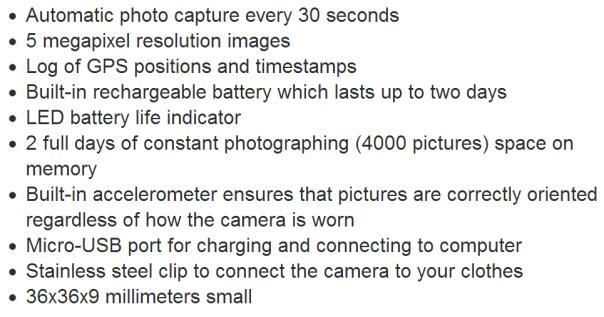 life blog camera