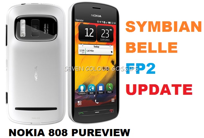 Symbian Belle FP2 Update For Nokia 808 PureView Started To
