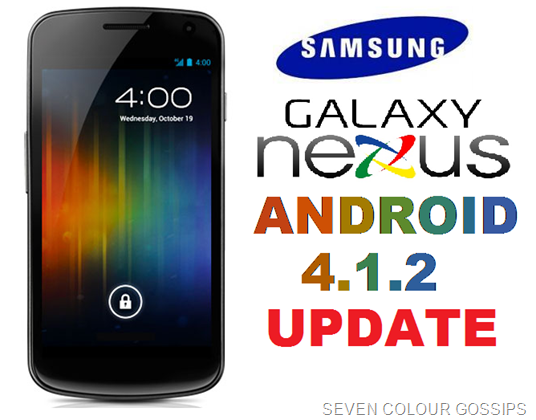 update for galaxy nexus