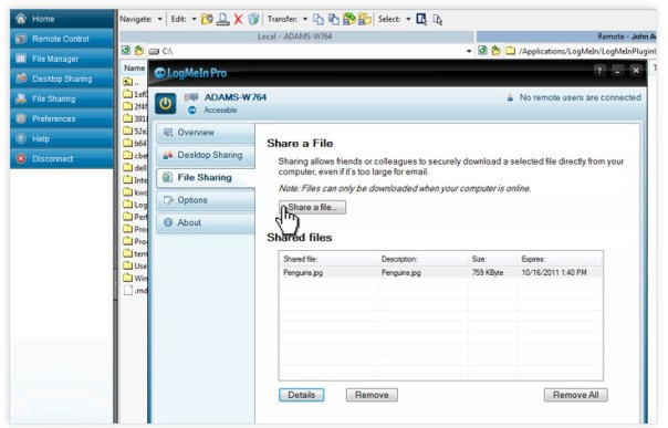 share files easily