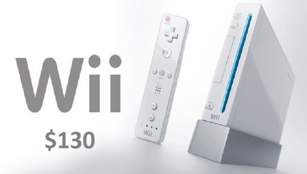 nintendo wii for $130