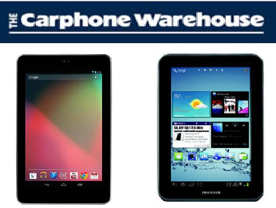 Get Samsung Galaxy Tab 2 7.0, 16GB Nexus 7 tablets form ...